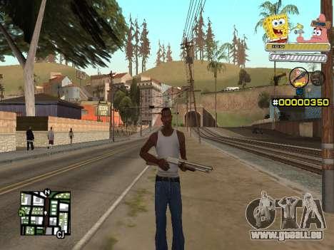 C-HUD Sponge Bob pour GTA San Andreas