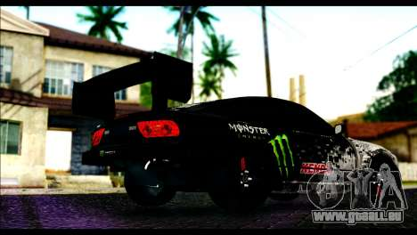 Nissan 180SX Monster Energy Spoiler für GTA San Andreas linke Ansicht