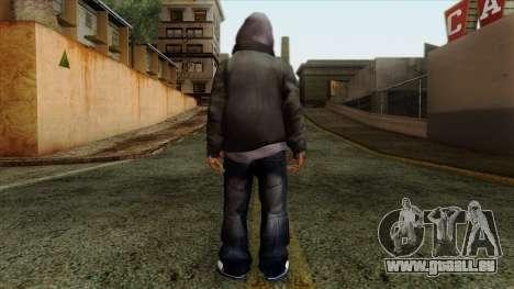 GTA 4 Skin 16 pour GTA San Andreas deuxième écran