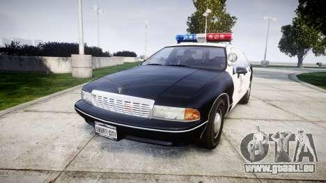 Chevrolet Caprice 1991 LAPD [ELS] Patrol für GTA 4
