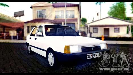 Tofas Dogan 90 Model pour GTA San Andreas