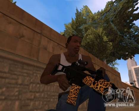 Jaguar Weapon pack pour GTA San Andreas