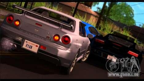 Forza Silber ENB für Mittel-PC für GTA San Andreas zweiten Screenshot