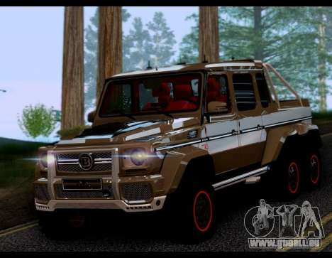 BRABUS 700 - Mercedes-Benz G63 AMG 6x6 pour GTA San Andreas