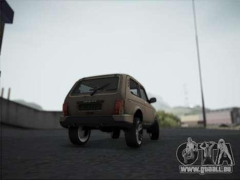 Lada Urdan pour GTA San Andreas vue de droite