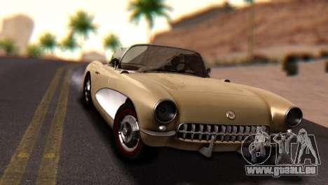 Chevrolet Corvette C1 1962 Dirt für GTA San Andreas rechten Ansicht