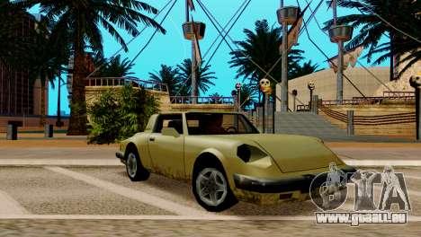 ENB pour les faibles et moyennes PC SA:MP pour GTA San Andreas septième écran