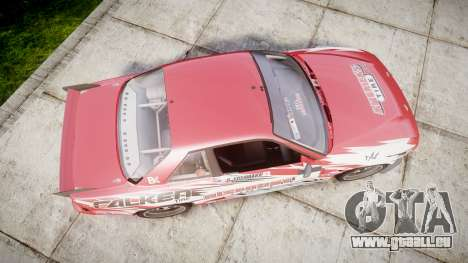 Nissan 240SX S13 D. Yoshihara für GTA 4 rechte Ansicht