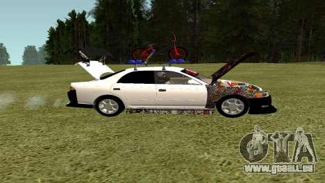 Toyota Mark 2 pour GTA San Andreas vue intérieure