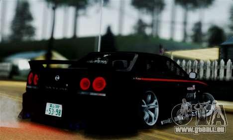 Nissan Skyline für GTA San Andreas linke Ansicht