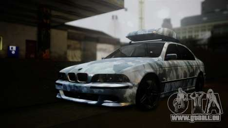 BMW M5 E39 Camouflage pour GTA San Andreas