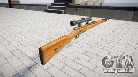 Le magazine fusil Karabiner 98k pour GTA 4 secondes d'écran