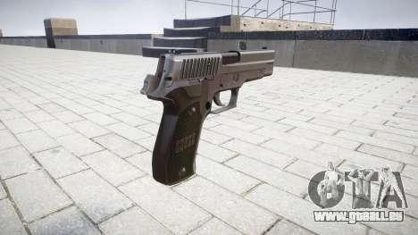 Pistolet SIG-Sauer P226 pour GTA 4 secondes d'écran