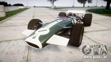 Lotus Type 49 1967 [RIV] PJ1-2 pour GTA 4