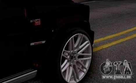 Brabus 700 für GTA San Andreas Rückansicht