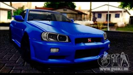 Nissan Skyline R-34 pour GTA San Andreas