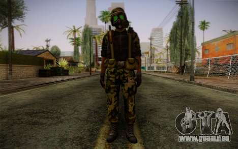 Hecu Soldiers 4 from Half-Life 2 pour GTA San Andreas