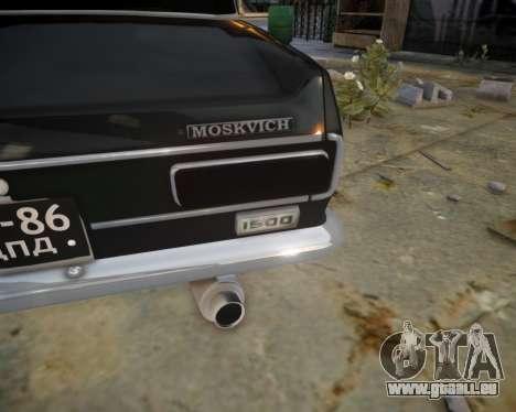 AZLK 2140 für GTA 4 Innenansicht
