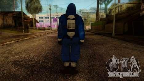 Scientist from Prototype 2 pour GTA San Andreas deuxième écran