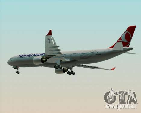 Airbus A330-300 Turkish Airlines für GTA San Andreas