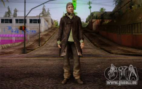 Aiden Pearce from Watch Dogs v8 für GTA San Andreas