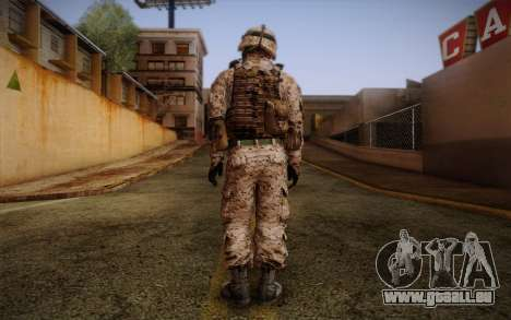 Chaffin from Battlefield 3 für GTA San Andreas zweiten Screenshot