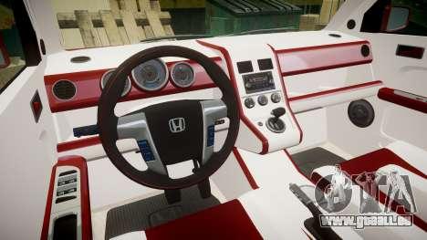 Honda Element 2005 pour GTA 4 Vue arrière