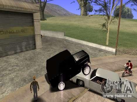 UAZ 469 für GTA San Andreas rechten Ansicht