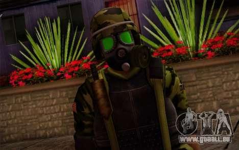 Hecu Soldiers 4 from Half-Life 2 pour GTA San Andreas troisième écran