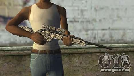 Le nouveau fusil de sniper pour GTA San Andreas troisième écran