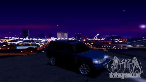 ENB pour les faibles et moyennes PC SA:MP pour GTA San Andreas quatrième écran
