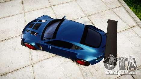 Aston Martin V12 Vantage GT3 2012 für GTA 4 rechte Ansicht