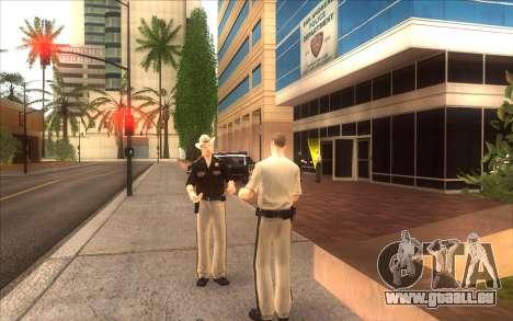 Die Wiederbelebung der LVPD für GTA San Andreas zweiten Screenshot