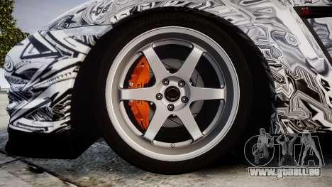 Nissan GT-R R35 2012 Sharpie für GTA 4 Rückansicht