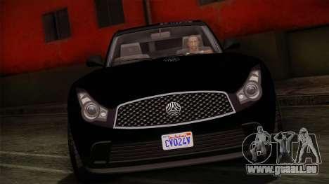 Fathom FQ2 from GTA 5 pour GTA San Andreas sur la vue arrière gauche