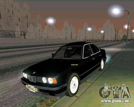 BMW 535i Stock pour GTA San Andreas