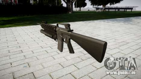 Fusil M16A2 M203 sight4 pour GTA 4 secondes d'écran
