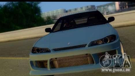 Nissan 180SX LF Silvia S15 pour GTA San Andreas laissé vue