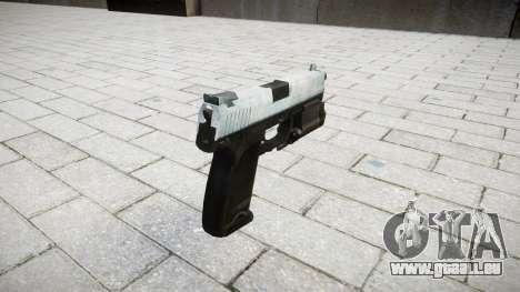 Pistolet HK USP 45 glacial pour GTA 4 secondes d'écran