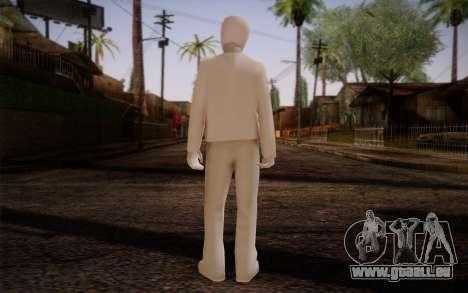 Ginos Ped 45 pour GTA San Andreas deuxième écran