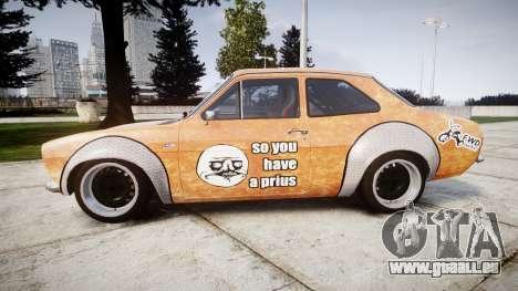 Ford Escort Mk1 Rust Rod v2.0 pour GTA 4 est une gauche