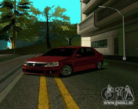 Renault Logan pour GTA San Andreas