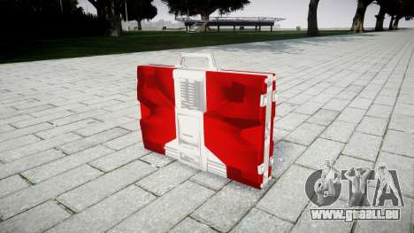Iron Man Mark V Briefcase pour GTA 4