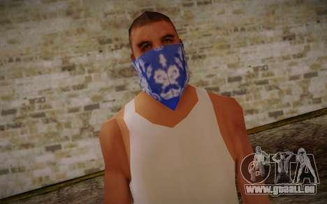 New Fam Skin 2 pour GTA San Andreas troisième écran