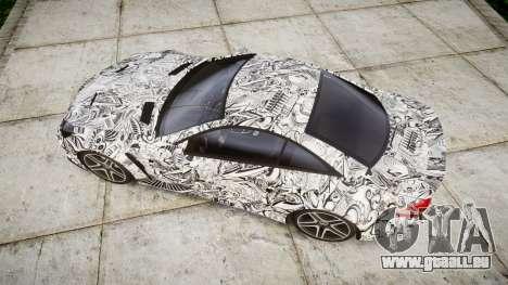 Mersedes-Benz SL65 AMG 2009 Sharpie pour GTA 4 est un droit