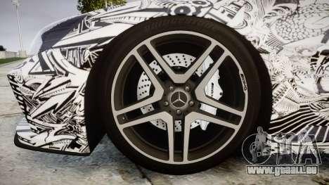 Mersedes-Benz SL65 AMG 2009 Sharpie pour GTA 4 Vue arrière