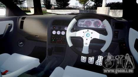 Nissan Skyline GT R33 1996 pour GTA 4 est un côté