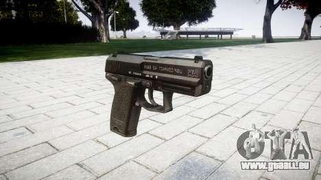 Pistole HK USP 40 für GTA 4