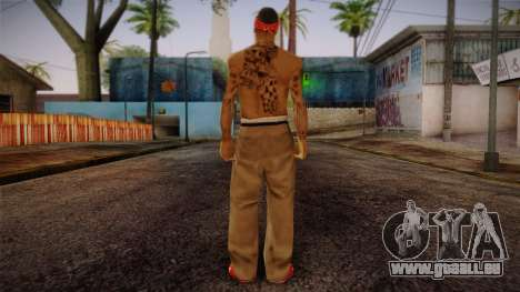 Fresno Buldogs 14 Skin 1 für GTA San Andreas zweiten Screenshot