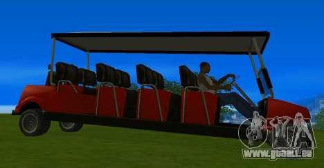 Caddy Restyle für GTA San Andreas rechten Ansicht